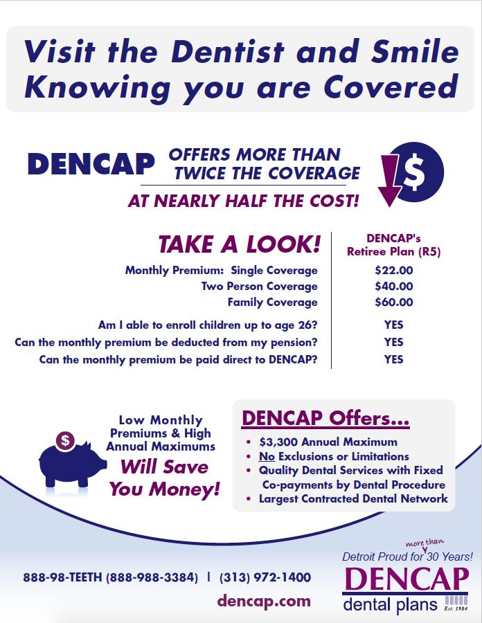 Wayne County Retirees Dencap Dental Plans